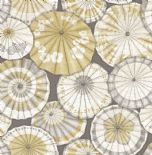 Mistral East West Style Wallpaper Mikado 2764-24358 By A Street Prints For Brewster Fine Decor